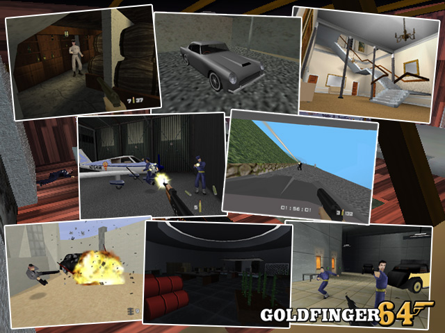 Goldfinger 64 - N64 Vault
